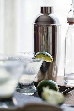 His & Hers Cocktails: Margarita & Rum-arita   Jelly Toast