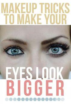 Make eyes look big