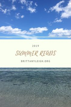 A list of the best reads of summer Links to purchase included! You Can Do, My Books, Lifestyle, Reading, Beach, Water, Summer, Outdoor, Gripe Water