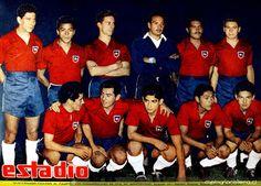 EQUIPOS DE FÚTBOL: CHILE Selección 1956