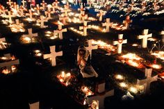 festival of lights\ A Cemetery in Dhaka,Bangladesh