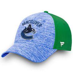 Men s Vancouver Canucks Fanatics Branded Heathered Blue Iconic Speed Flex Hat  Vancouver Canucks f999d4b9d9c6