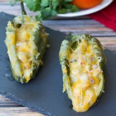 Chile Relleno Rustico is a great Tex-Mex meal if you are looking for bold flavors in a dish. It's made with shrimp, walnuts, cream sauce, and cheese stuffed in a poblano pepper. Chili Relleno, Mexican Dishes, Mexican Food Recipes, Ethnic Recipes, I Love Food, Good Food, Yummy Food, Great Recipes, Favorite Recipes