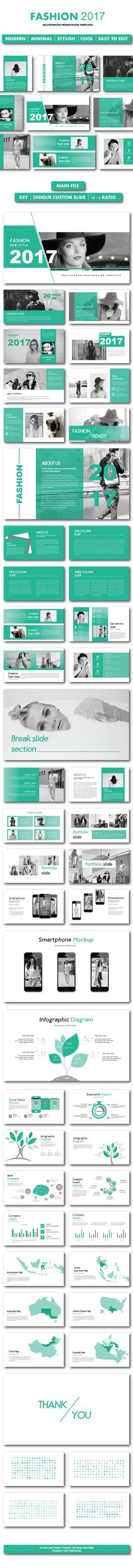 Fashion 2017 Keynote Templates