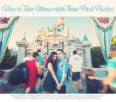 Great photography ideas for your next vacation to a theme park!  iHeartFaces.com