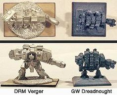 DRM size comparison.  Epic 6mm.  http://www.darkrealmminiatures.co.uk/articles/sizecomps.php