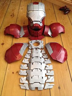 Ironman Foam Builds (info added on page 1 for foam builds) Update on helmet.