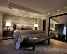 Large Mirror In Bedroom Design, Pictures, Remodel, Decor and Ideas