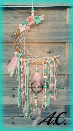 12 wonderful ways to have fun with a unicorn dream catcher . - 12 wonderful ways to have fun with a unicorn dream catcher …… – # Unicorn Dre - catcher craft unicorn Dream Catcher Craft, Dream Catcher Boho, Dream Catcher Mobile, Diy And Crafts, Crafts For Kids, Arts And Crafts, Preschool Crafts, Cork Crafts, Shell Crafts