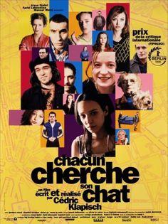 Chacun cherche son chat, by Cédric Klapish, 1997 #french movie