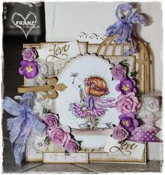 OOAK Handmade card by Franz Lili of the Valley by FranzShop, €8.50