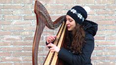 """""""Winter"""" by Tori Amos -  Celtic Harp&Voice Cover"""