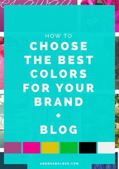 In this lesson, I'll walk you through the steps to choosing your perfect brand palette, one that not only aligns with your brand personality but with your brand message. Personal Branding, Branding Your Business, Business Tips, Find A Business Name, Email Marketing Services, Make Money Blogging, Blogging Ideas, Blog Topics, Build Your Brand