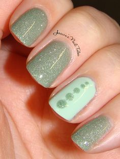 Jessica's Nail Tales, 2/22/13: A Simple Zoya Combo