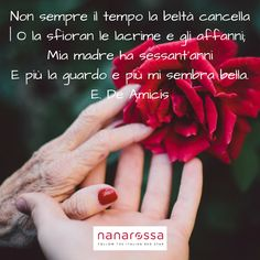 Settimana dedicata alle mamme #nanarossa #festadellamamma