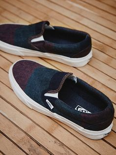 Authentic Wool Slip On Sneaker