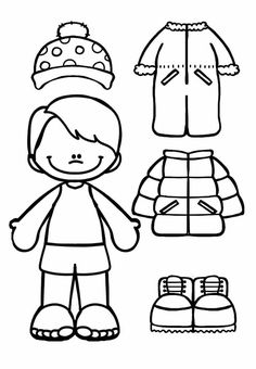 Cut and color your own designs – Backyard & Garden Design Preschool Worksheets, Kindergarten Activities, Learning Activities, Preschool Activities, Kids Learning, Winter Crafts For Kids, Winter Fun, Winter Theme, Free To Use Images