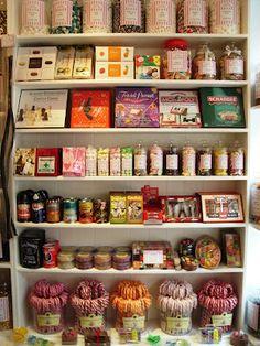 Inside Mrs Kibble's Olde Sweet Shoppe,  London