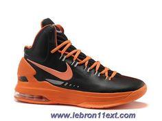 New Black Orange Nike Zoom KD V