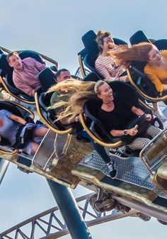 Enjoy a fun day out at the UK's most ride intensive theme park. Iconic theme park rides for a fun family day out. Fun Days Out, Family Days Out, Football Dress, Blackpool Pleasure Beach, New Image, Places To Travel, Roller Coasters, Wonder Woman, Adventure