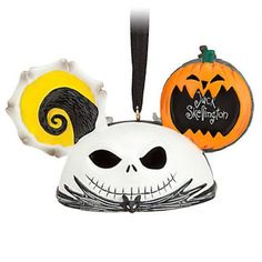 - Inspired by Tim Burton's The Nightmare Before Christmas - Sculpted detailing - Includes printed artist signature - Includes ribbon for hanging - Created by Disney artist Costa Alavezos - Resin - 2''