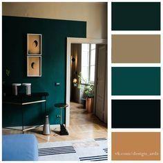 Новини colours у 2019 р. bedroom colour palette, room color schemes і Green Bedroom Colors, Bedroom Color Combination, Bedroom Colour Palette, Green Rooms, Green Living Room Walls, Dark Teal Bedroom, Green Dining Room, Dark Green Walls, Green Paint Colors