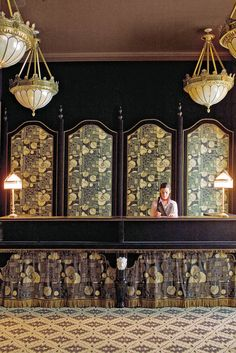 the Jacques Garcia-designed NoMad Hotel // must stay here next time I'm in NYC.