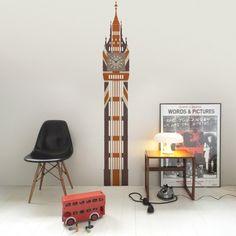 Union Jack Big Ben Wall Clock $220 inc AU delivery