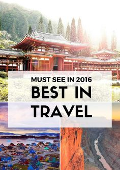 The famous Lonely Planet has inspired millions of travelers over the years with their amazing travel guides. They have just released best in travel 2016. Have a look at this blog post to find out wat are the most see places and destinations in 2016.