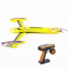 546.99$  Watch now - http://alibn5.worldwells.pw/go.php?t=32792804205 - 100KM/H H660 Electric Brushless RC Speed Radio Controled Racing Boat RTR Yellow 546.99$
