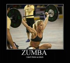 Nothing against Zumba because I used to go...but this is funny! #vitaminshoppe #contest #fitnesspinspiration