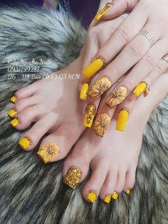 Finger Nail Art, Toe Nail Art, Summer Acrylic Nails, Cute Acrylic Nails, Gorgeous Nails, Pretty Nails, Hippie Nails, Crazy Nail Art, Gel Nail Art Designs
