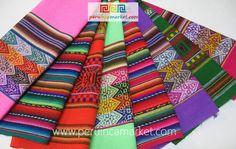 8 Mantas uit Peru Peruaanse textiel van Peru Inca Market op DaWanda.com