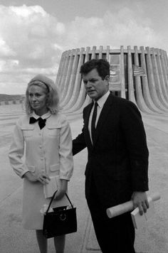 Joan and Ted Kennedy 1966