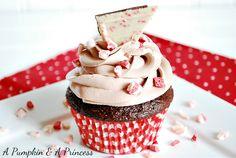 Chocolate Peppermint Cupcake Recipe