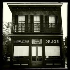 Kennedy Pharmacy on Broughton St. in Savannah (perfect, work down stairs and live up stairs)