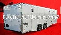 RACE TRAILER OKLAHOMA TULSA Brand NEW Hauler RACE Trailer.   Race Ready 918-286-7900 HITCH IT TRAILER SALES 5866 S. 107TH E. AVE TULSA, OK 74146 www.RaceTrailersOK.com www.RaceTrailersTulsa.com  www.RaceTrailersOklahoma.com #HitchIt #TrailerSales #TrailerParts #hAULMARK #LARK #TrailerRepair #TruckAccessories #Tulsa #Oklahoma #UnitedTrailers #RaceTrailer #SuperHauler #Trailer #TulsaShoot