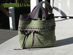 Cute bag - crochet free pattern