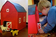 Little Red Barn - http://www.pbs.org/parents/crafts-for-kids/little-red-barn/