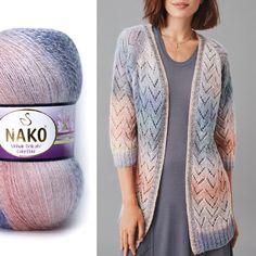 Baby Knitting Patterns, Work Fashion, Knit Crochet, Delicate, Wool, Sweaters, Arya, Vest Coat, Women's