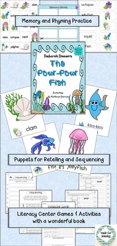 Fun learning activities with a great read-aloud story.  $