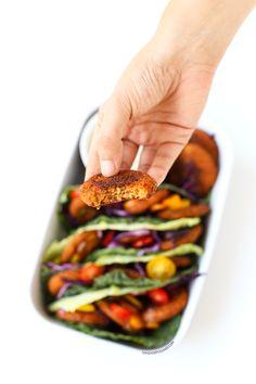 Receta de falafel al horno   danzadefogones.com #vegan #vegano