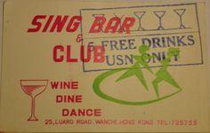 Sing Bar,Wanchai