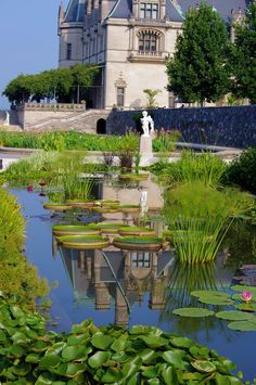 Gardens at #Biltmore House in Asheville NC. Photo by www.RomanticAsheville.com