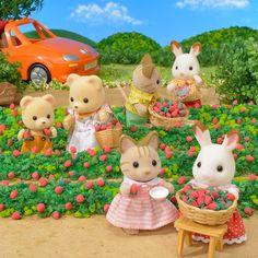メディアツイート: シルバニアファミリー【公式】(@SylvanianJP)さん   Twitter Calico Critters Families, Critters 3, Beanie Babies, Sylvania Families, Cute Toys, Plushies, Minis, Cute Animals, Childhood