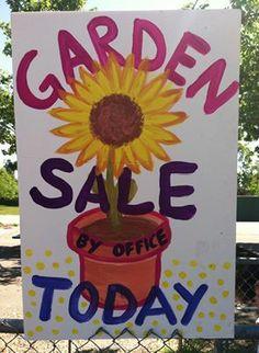 Plant sale sign Planting Flowers, Flower Gardening, Farm Stand, Garden Club, For Sale Sign, Plant Sale, Cursed Child Book, Bake Sale, Garden Plants