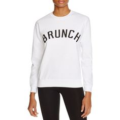 Private Party Brunch Printed Sweatshirt ($84) ❤ liked on Polyvore featuring tops, hoodies, sweatshirts, white, white going out tops, hooded pullover, sweatshirt hoodies, hooded pullover sweatshirt and hooded sweatshirt