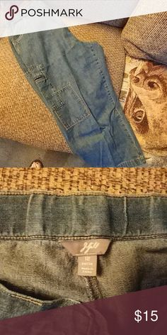 J. Jill petite denim cropped pants Cropped jeans very comfortable six pockets J. Jill Pants Ankle & Cropped