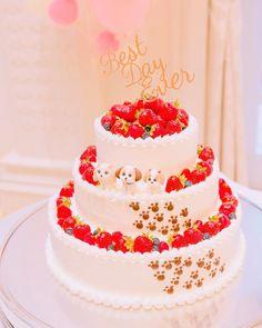 ウェディングケーキを華やかにする!可愛いケーキトッパーのデザイン5選*   marry[マリー]