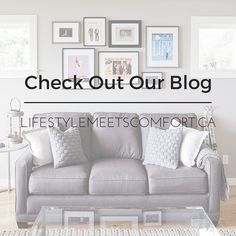Our blog is a resource of recipes, design trends and interior decorating advice. If you haven't already, check out Lifestyle Meets Comfort today.
